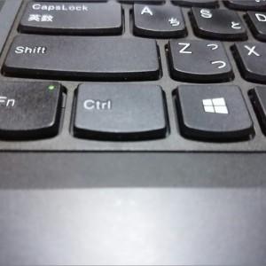 ThinkPad E450のFnキーとCtrlキーを入れ替える方法。