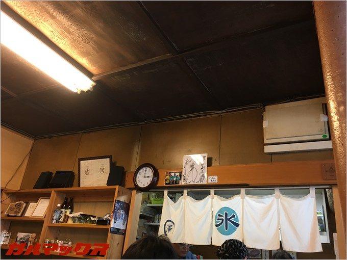 山口智充さんの色紙が神棚の様に大切に飾られてます