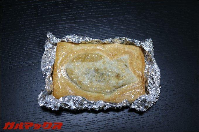 パイの周りを立てることで熱が伝わりやすくなります