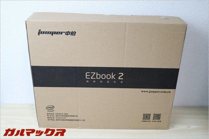 「Jumper Ezbook 2」の入っていた外箱