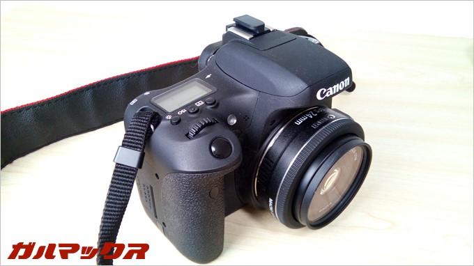 BV6000sで黒の被写体を撮影。かなりキレイに撮影できます