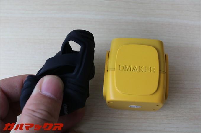 OmakerのW4Nの保護カバーは柔軟性のあるシリコンカバーなので、見掛け倒しではなく高い衝撃吸収性能を誇ります。