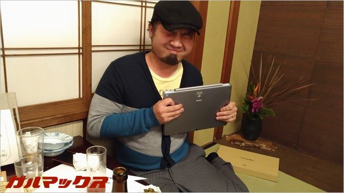WIN10+Androidのタブレットをゲット!