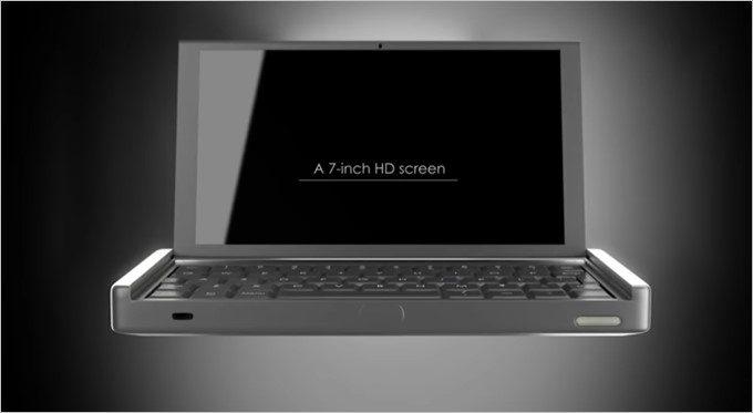 ディスプレイを開くとWindows10が利用できるPCモードへ。