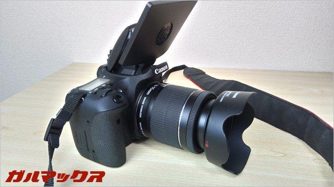 RAIJINのオートモードで一眼レフCameraを撮影