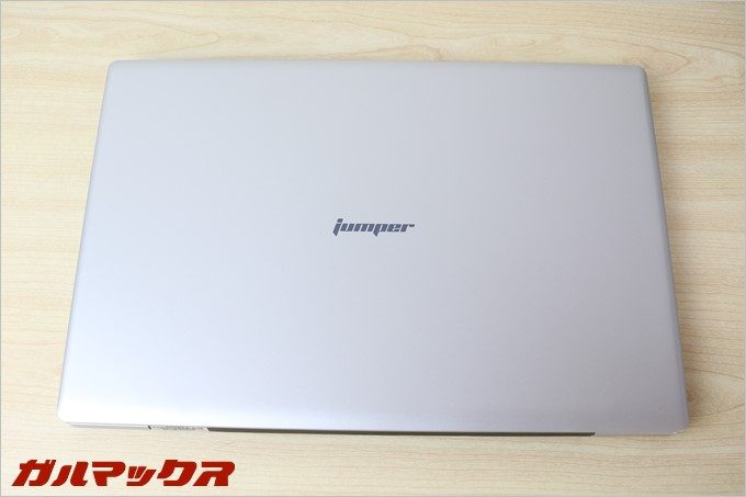 Jumper Ezbook 3の天板は非常に指紋が目立ちにくい