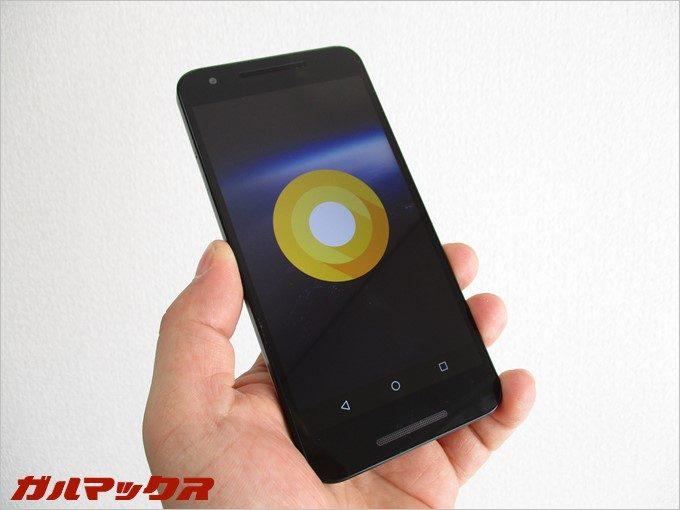 Android O(8.0)をNexus5xにインストールしてみた。