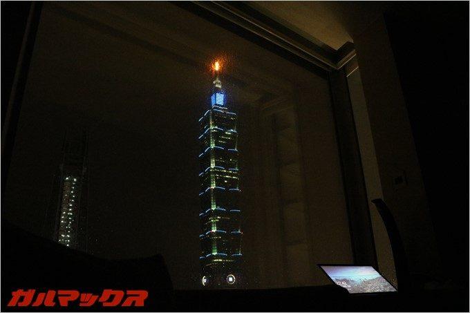 ハンブルハウス台北ホテルは台北101が眺望出来ます。