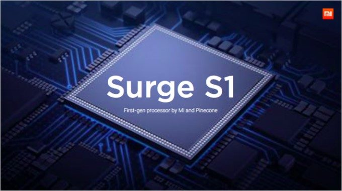 Xiaomi製SoCのSurge S1