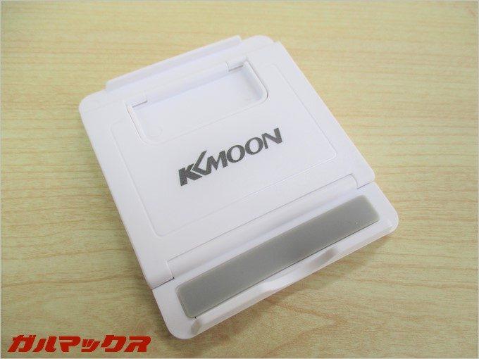 付属のスマホスタンドはKKmoon製
