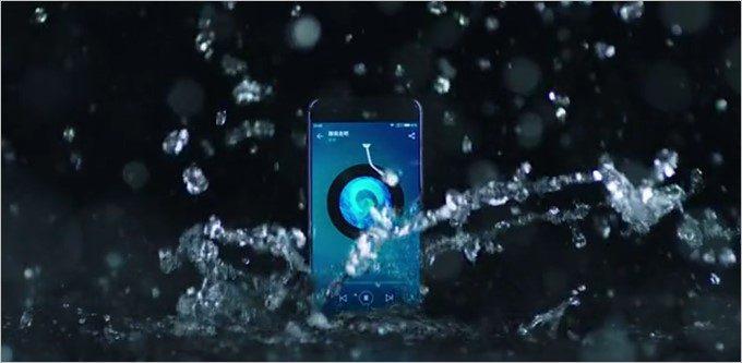 Xiaomi Mi6は生活防水に対応しているので雨もへっちゃら