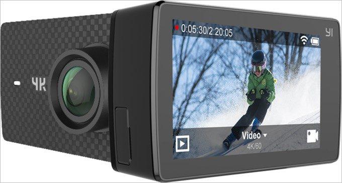 「YI 4K+」は4K/60FPSを実現したアクションカメラ