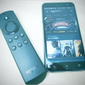 Fire TV Stickはスマホを利用した検索が快適!