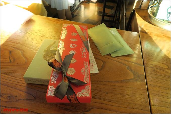 チョコレートをお土産で購入しました。
