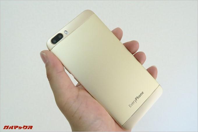 シンプルな外観が魅力的なEveryPhone ME