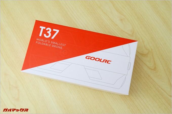 GOOLRC T37の外箱
