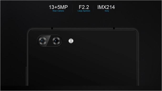 SONYのIMX214を採用したデュアルカメラを搭載
