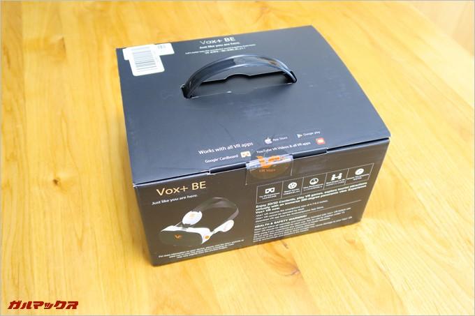 VOX PLUS BE 3DVRのパッケージ