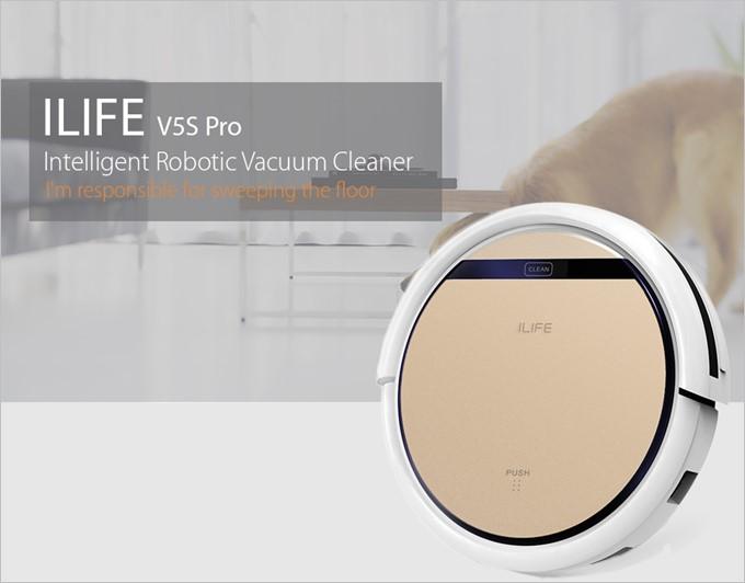 掃除ロボット、水拭きロボットにも変身する人気モデルのILIFE V5S Pro