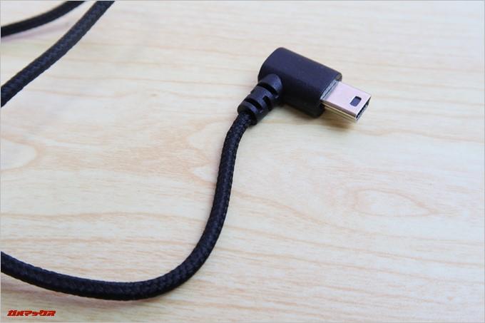 外部マイクは充電端子を利用するのでマイクを利用中は充電が出来ない