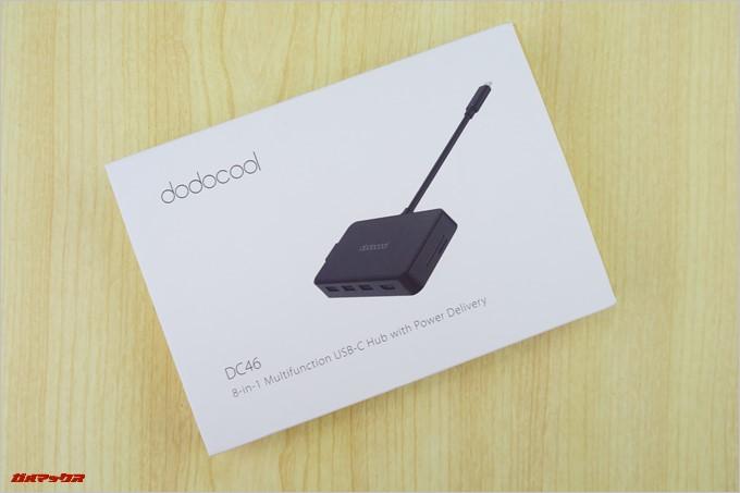 dodocoolのDC46は、こんなパッケージに入っています