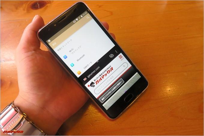 Android 7.0を採用しているのでGretel「GT6000」は最新のAndroid機能も利用可能です。