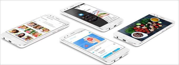 ZenFone 4はZenUI4.0に対応しています