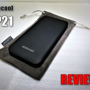 dodocool DP12のレビュー!USB Type-C、MicroUSB内蔵モバイルバッテリー!