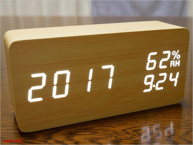SOFERは日付と時刻などを同時表示出来ます