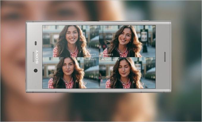 Xperia XZ1は最大4枚の先読み撮影に対応しています。