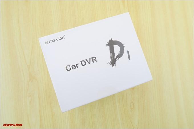 AUTO-VOX D1のパッケージ