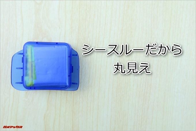 ペットボトル型の隠しカメラK3には400mAhのバッテリーが搭載されており2.5時間の連続撮影が可能です