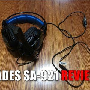 マジで2千円?コスパ抜群なゲーミングヘッドセット「SADES SA-921」のレビュー!