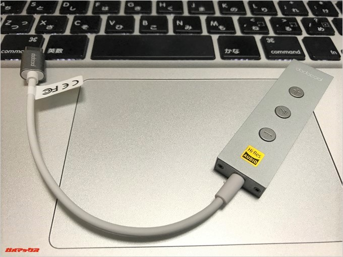 USB-Cオーディオ変換アダプター「DA134」の外観をチェック!