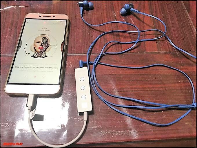 USB-Cオーディオ変換アダプター「DA134」を使ってみました