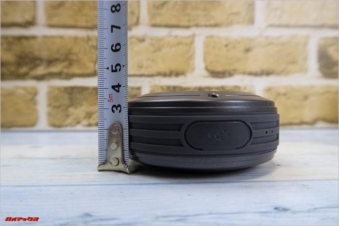 Tronsmart「T4」の厚みは3.5mm程