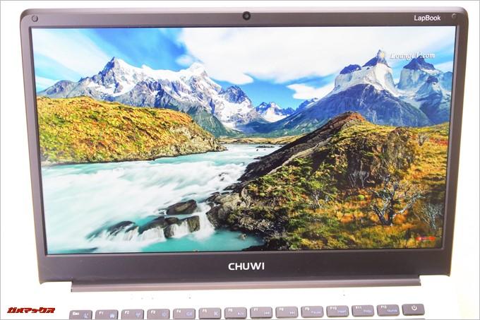 CHUWI LapBookはフルHDの動画も止まらず再生できます