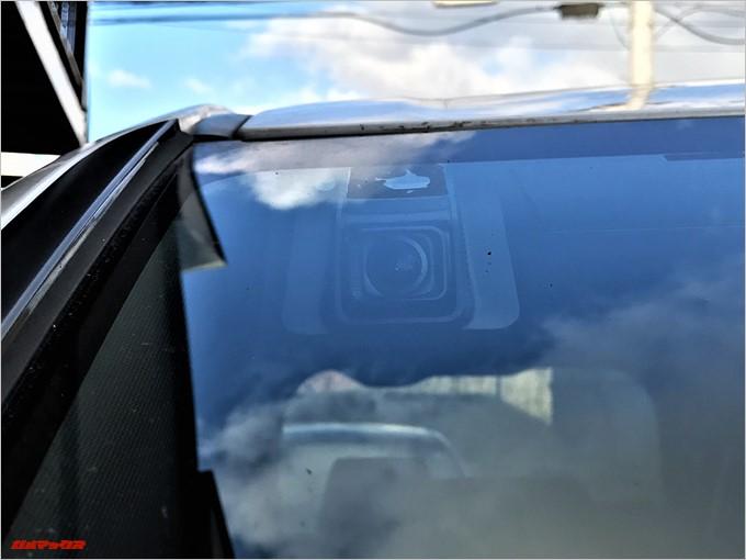 Drive Recorder DRV-1は外側からも目立ちにくい