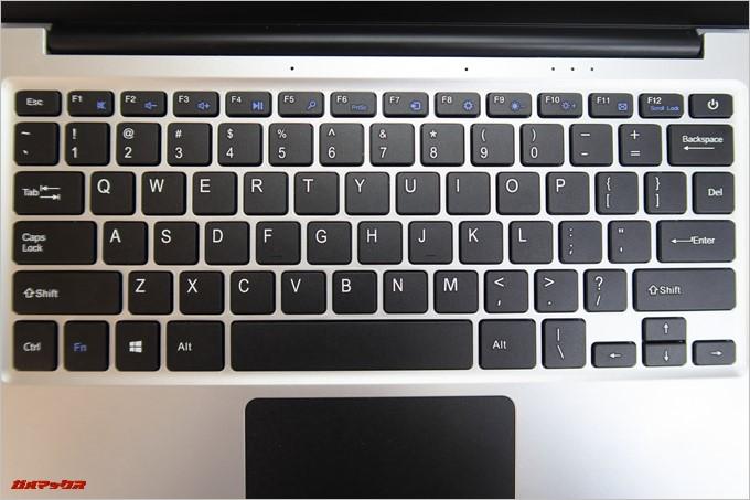 Jumper EZbook 3SEのキーボードはUS配列