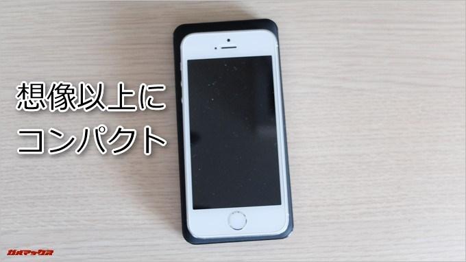 Anker PowerCore2 Slim 10000はiPhone5を一回りほど大きくした感じ