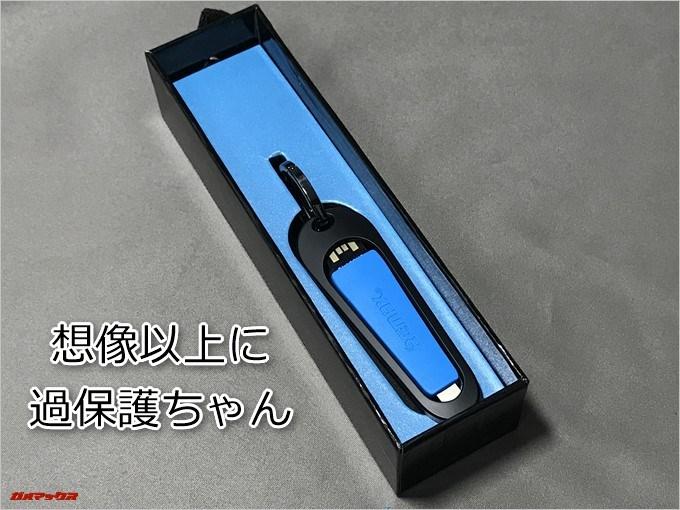 REMAX RINGS CABLEはバッチリ緩衝材で梱包されていました!