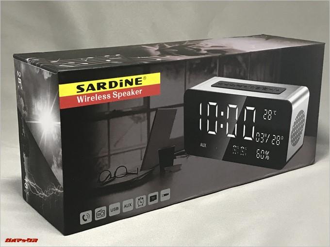SARDiNE A10は美しいパッケージが魅力