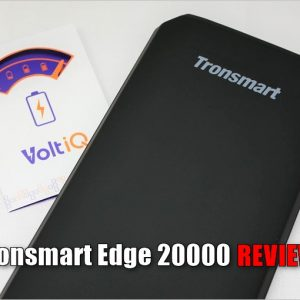 Tronsmart Edge 20000のレビュー!QC3・Huawei FCPの急速充電に対応したモバイルバッテリー