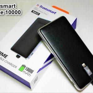 Tronsmart Prime 10000のレビュー!iPhoneに最適なレザー調のモバイルバッテリー