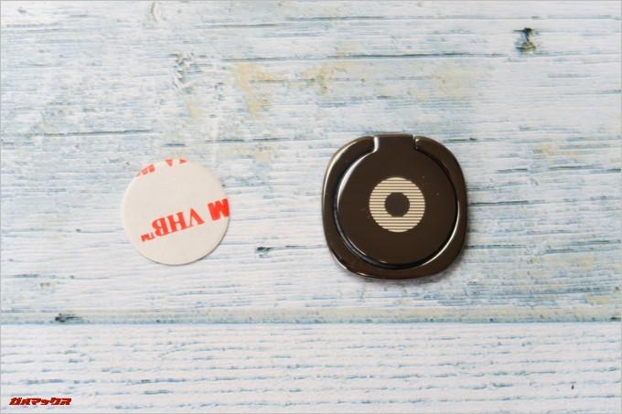 KYOKA製の落下防止リングの同梱品は本体とスペアテープのみ