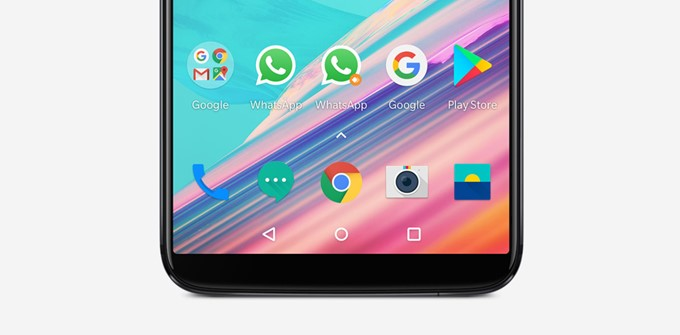 OnePlus 5Tはナビゲーションキーがオンスクリーン型