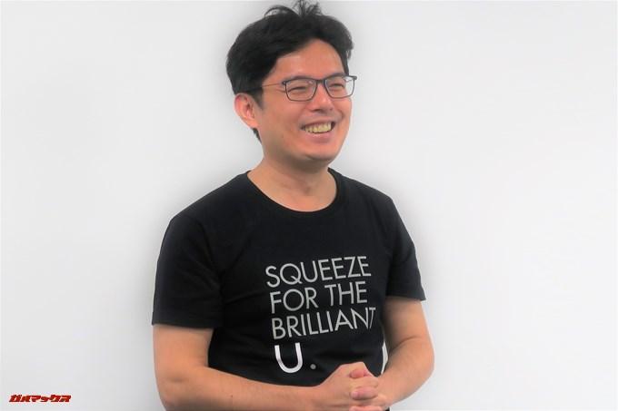 デザイン部門アソシエイトバイスプレジデントのジョンソン・チャン 氏