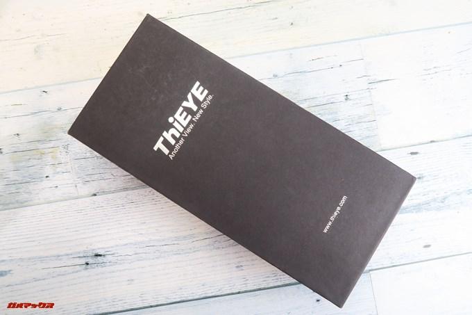 Thieye E7の外箱はブラックでクール