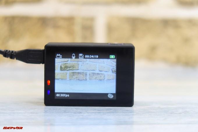 Thieye E7は充電しながら撮影する事が可能です。
