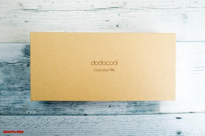 dodocool DP13の外箱はシンプルなパッケージ